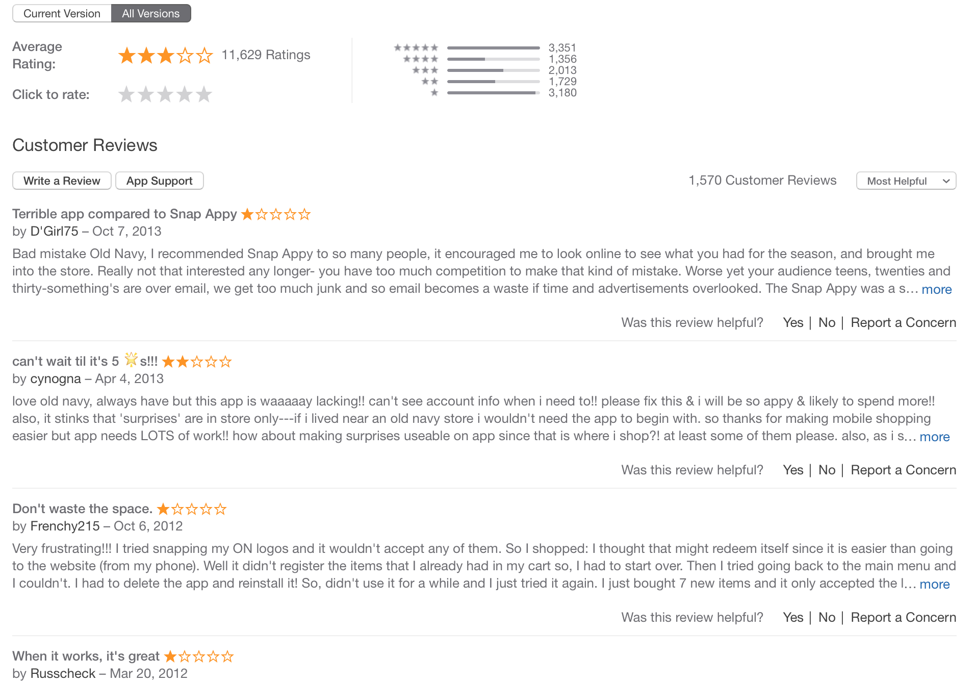 old-navy-app-reviews