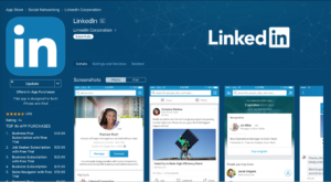linkedin custom app store theme