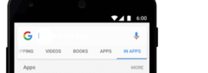 google app search bar