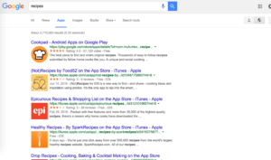 google apps search