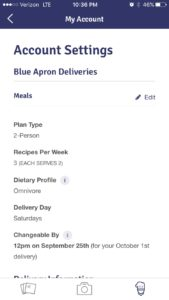 blueapron2 settings