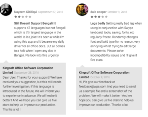 wps office google play user reviews