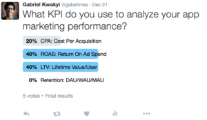 twitter poll – mobile app marketing KPIs2