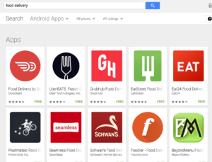 google play keyword search