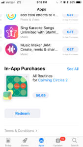 app store featured in app purchase