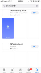 app store preview video