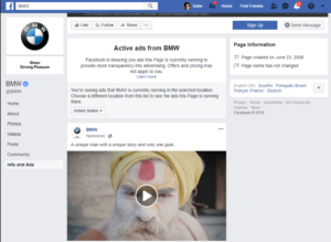 facebook ads info and ads feature web2